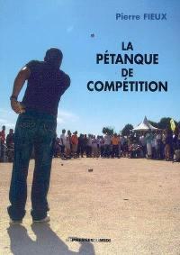 La pétanque de compétition
