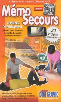 Mémo secours : prévention et secours civique PSC1