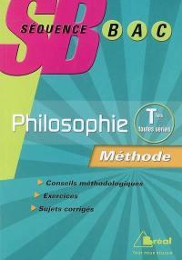 Philosophie terminale toutes séries : méthode