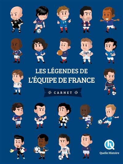Les légendes de l'équipe de France