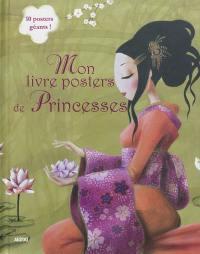 Mon livre posters de princesses