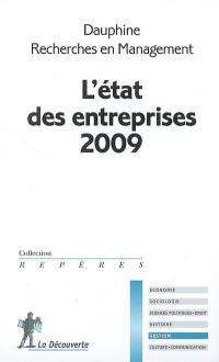 L'état des entreprises 2009