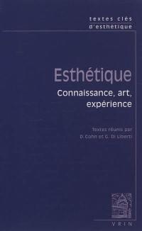 Esthétique : connaissance, art, expérience