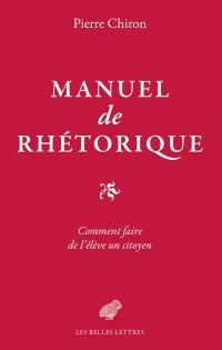 Manuel de rhétorique