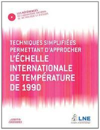 Techniques simplifiées permettant d'approcher l'échelle internationale de température de 1990