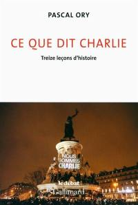 Ce que dit Charlie