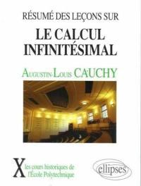 Résumé des leçons sur le calcul infinitésimal