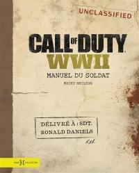 Call of duty WWII : manuel du soldat