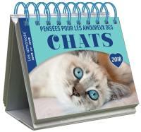 Pensées pour les amoureux des chats 2018