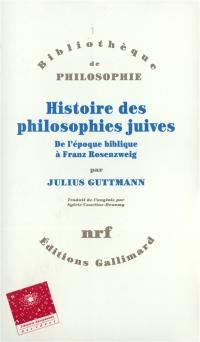 Histoire des philosophies juives