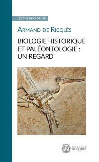 Biologie historique et paléontologie