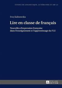 Lire en classe de français