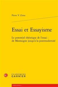 Essai et essayisme