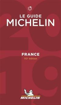 France, le guide Michelin 2019