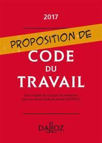 Proposition de code du travail