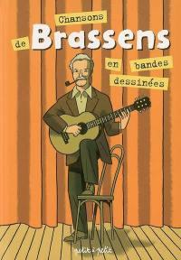 Chansons de Brassens en bandes dessinées