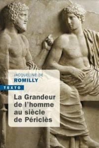 La grandeur de l'homme au siècle de Périclès