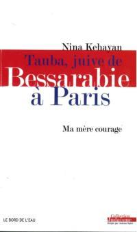 Tauba, Juive de Bessarabie à Paris