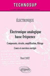 Electronique, électronique analogique basse fréquence