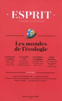 Esprit. n° 441, Les mondes de l'écologie