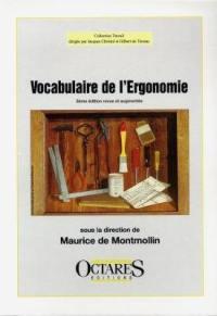 Vocabulaire de l'ergonomie