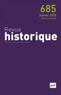 Revue historique. n° 685