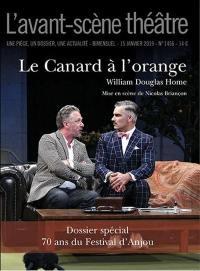 Avant-scène théâtre (L'). n° 1456, Le canard à l'orange