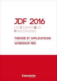 JDF 2016, les Journées DEVS francophones