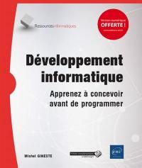 Développement informatique : apprenez à concevoir avant de programmer