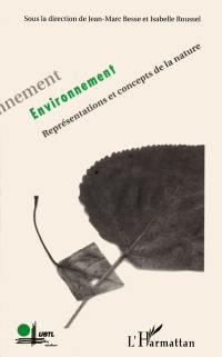 Environnement : représentations et concepts de la nature