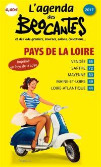 L'agenda des brocantes Pays de la Loire. n° 2017