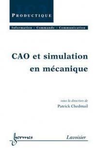 CAO et simulation en mécanique