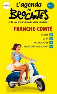 L'agenda des brocantes Franche-Comté. n° 2017