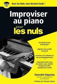 Improviser au piano pour les nuls
