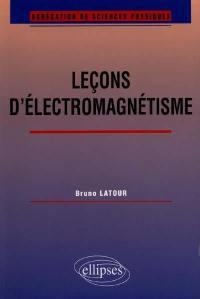 Leçons d'électromagnétisme