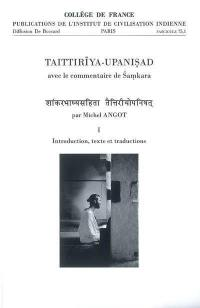 Taittiriya upanisad : avec le commentaire de Samkara