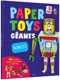 Papertoys géants : robots
