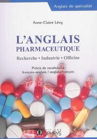 L'anglais pharmaceutique
