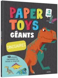 Papertoys géants : dinosaures