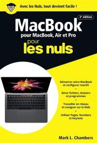 MacBook pour MacBook, Air et Pro pour les nuls