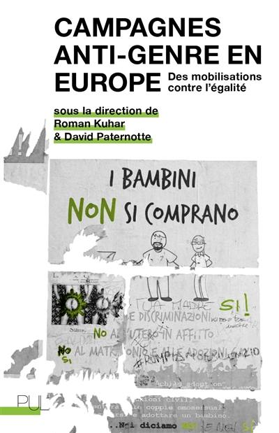 Campagnes anti-genre en Europe