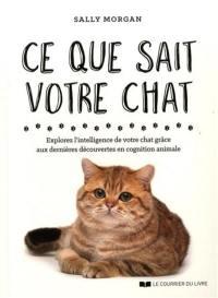 Ce que sait votre chat