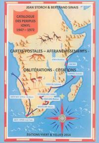 Catalogue des périples Ionyl, 1947-1972