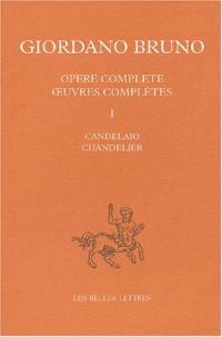 Oeuvres complètes. Volume 1, Chandelier