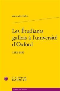 Les étudiants gallois à l'université d'Oxford