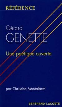 Gérard Genette, une poétique ouverte