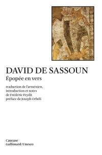 David de Sassoun : épopée en vers