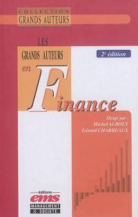 Les grands auteurs en finance