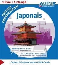 Coffret conversation japonais