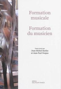 Formation musicale, formation de musicien